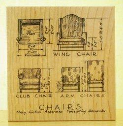 画像1: 椅子の設計図