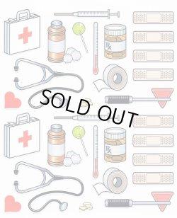 画像1: 病院の輸入シール