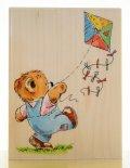 凧(タコ)と熊