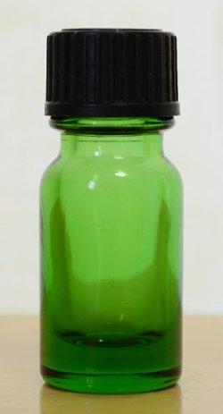 画像1: 綺麗な緑の遮光瓶 4ml