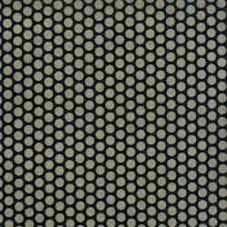 画像1: 蜂の巣みたいなグレーの水玉凹凸ペーパー