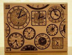 画像1: 時計の背景