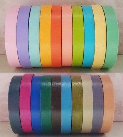画像1: 細いマスキングテープ10色セット/20色セット