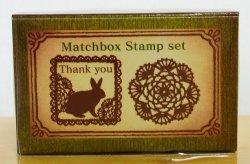画像1: ウサギのThank youとドイリーレース