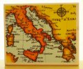 イタリアの地図