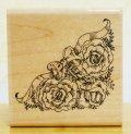 薔薇とリボンのコーナー