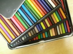 画像1: スタンプ色塗用カラーセット 輸入