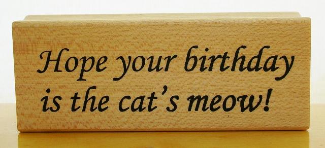 猫のニャーな誕生日になりますように