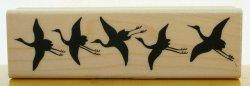 画像1: 鶴(ツル)のボーダー
