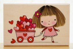 画像1: 愛を運ぶ女の子