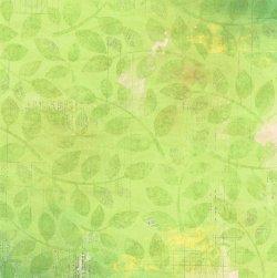 画像1: 葉っぱと英字柄のペーパー