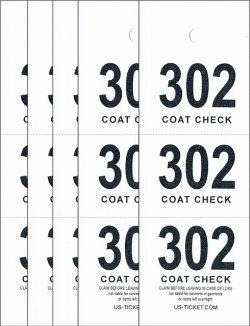 画像1: コートチェック 輸入チケット