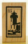 アメリカ灯台の切手柄